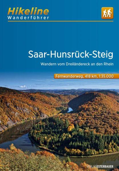 Saar-Hunsrück-Steig, Hikeline Wanderführer mit Karte