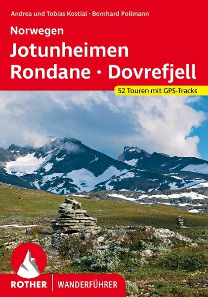 Norwegen Wanderführer: Jotunheimen - Rondane, Rother