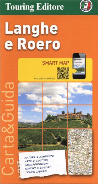 Langhe e Roero touristische Freizeitkarte 1:175.000, wasser- und reißfest, TCI