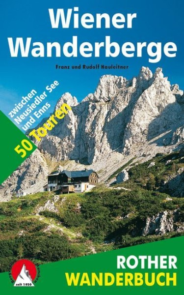 Wiener Wanderberge, Wanderbuch von Rother