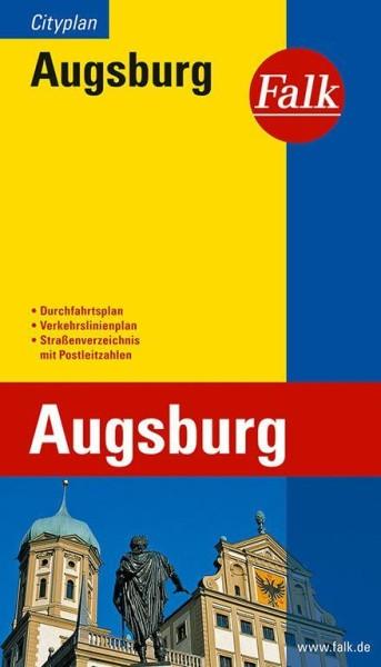 Falk Stadtplan Citymap Augsburg