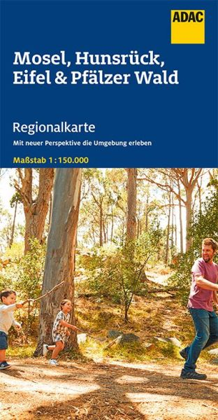 Bl. 11 Mosel, Hunsrück, Eifel Regionalkarte 1:150.000, ADAC Straßenkarte