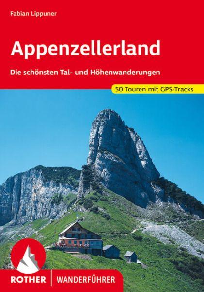 Appenzeller Land Wanderführer, Rother