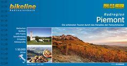 Radregion Piemont, Bikeline, Radführer