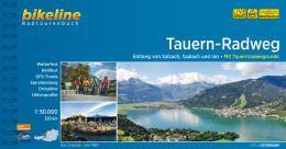 Tauern-Radweg, Bikeline Radwanderführer mit Karte, Esterbauer