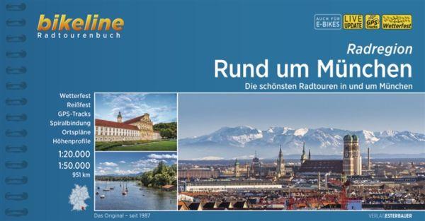 Rund um München, Bikeline Radwanderführer mit Karte, Esterbauer