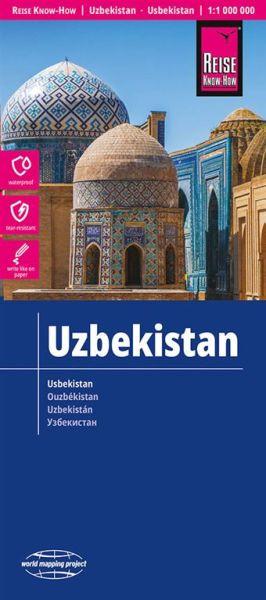 Usbekistan Landkarte 1:1.000.000, Reise Know-How