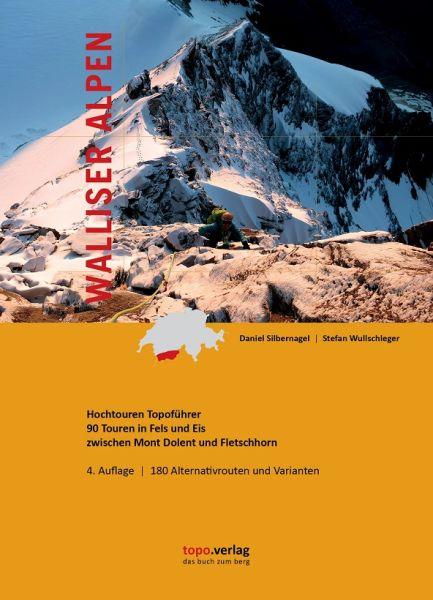 Walliser Alpen Hochtourenführer, Topo Verlag