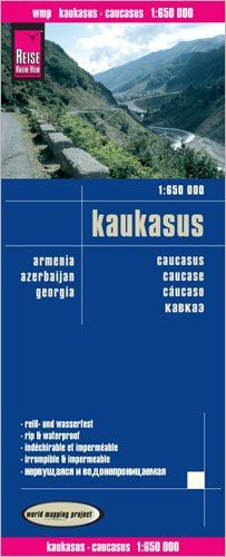 Kaukasus Landkarte 1:650.000, Reise Know-How