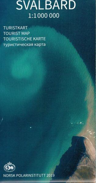 Svalbard / Spitzbergen Straßenkarte 1:1.000.000, Norsk Polarinstitutt