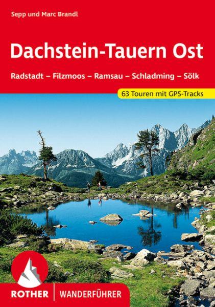 Dachstein-Tauern Ost Wanderführer, Rother