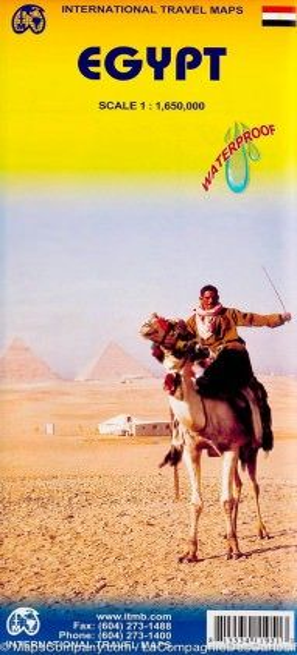 Ägypten Landkarte 1:1.650.000, ITM
