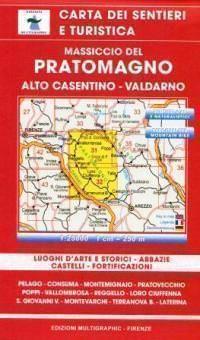 Edition Multigraphic 31/32, Massiccio del Pratomagno, Toskana, 1:25.000