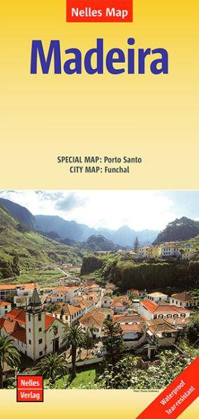Nelles Maps, Madeira 1:60.000 reiss- und wasserfest