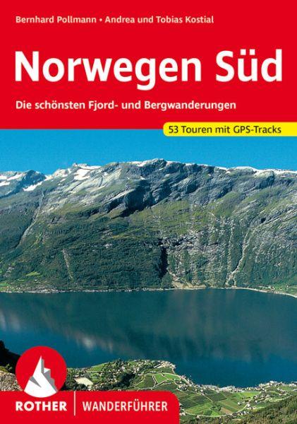 Norwegen Süd Wanderführer, Rother