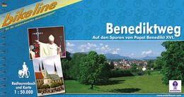 Benediktweg, Bikeline Radwanderführer mit Karte
