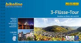 3 Flüsse-Tour Rhein, Ahr, Erft Bikeline Radtourenbuch, Esterbauer Verlag
