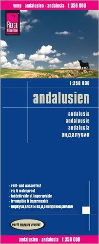 Andalusien Landkarte 1:350.000, Reise Know-How