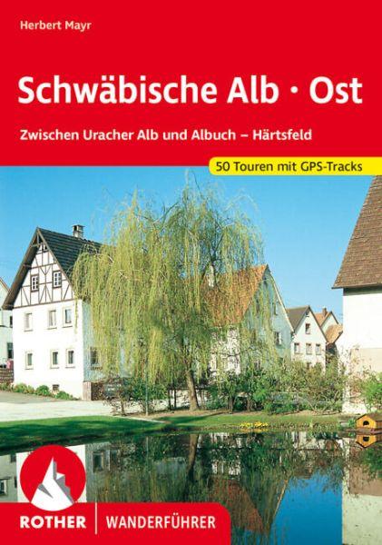 Schwäbische Alb - Ost Wanderführer, Rother