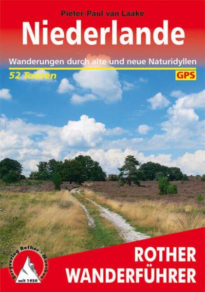 Niederlande Wanderführer, Rother