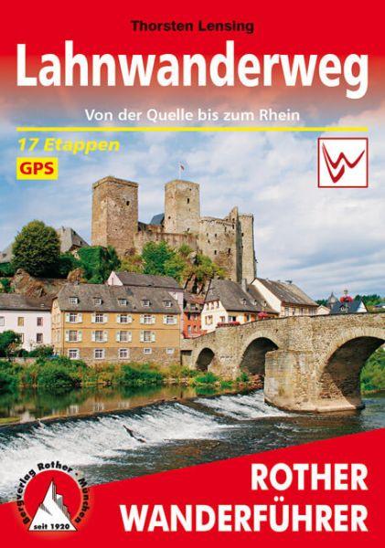 Lahnwanderweg Wanderführer - Rother