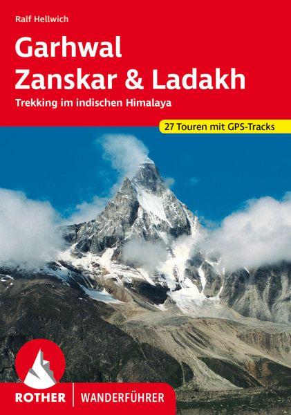 Garhwal, Zanskar & Ladakh Wanderführer, Rother