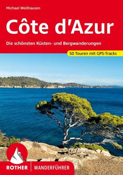 Côte d'Azur Wanderführer, Rother