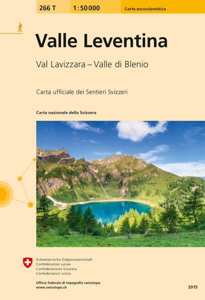 266 T Valle Leventina Wanderkarte 1:50.000 - Swisstopo