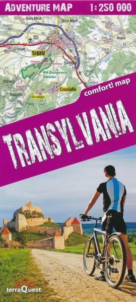 Terra Quest Transilvanien Adventure Map 1:250.000